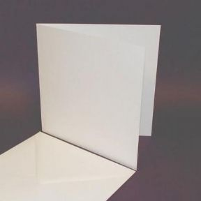 25 Pack - 7x7 White Card Blanks & Envelopes